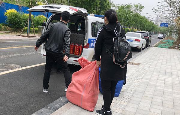 爱心公益下乡行2021春季第二站——灵寿庙台村公益下乡,温暖加倍